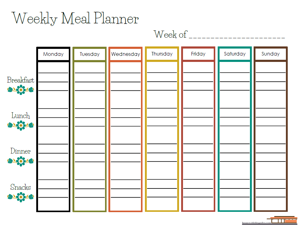 Free Printable  Weekly Meal Planner  Home With The Gades. Microsoft Personal Finance Software Free Download Template. Immigration Letter Of Support For A Friend Template. Travel Expense Approval Form. New Year Cards Japanese Template. Party Invitation Template Free Template. Interview Followup Email Template. Sample Grant Proposal Templates. Order Of Experience On Resume Template
